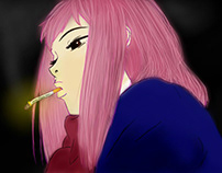 FLCL Fan Art: Mamimi