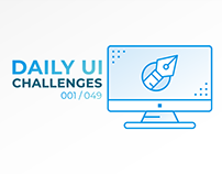 Daily UI Challenges - 001/049