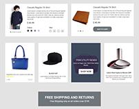 E-commerce UI Kit