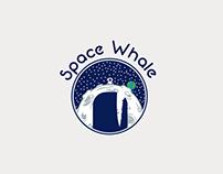 Space Whale Proposoal Logo
