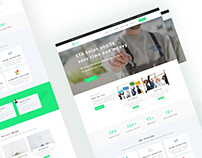 Eta Multipurpose Business, Hosting, Consulting Template