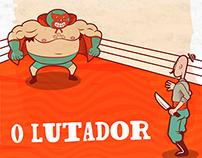 """""""O Lutador"""" Comics"""