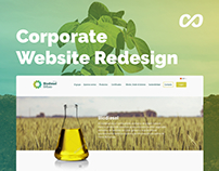Website redesign | Biodiesel company