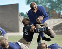 COLORIZATION: 1924 Bucknell vs Georgetown (2012)