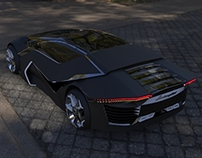 Lamborghini Dyneema exterior