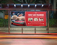 First Aid Billboard Template