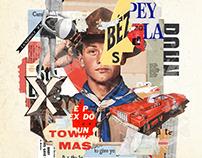 Collage artwork 241-246