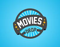 MoviesDrop Branding