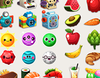 Icons - Mondogotchi app