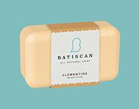 Batiscan Soap - Branding