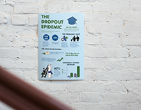 The Dropout Epidemic Infographic