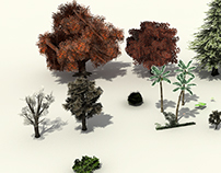 Environment Design and Assets for Game Use.