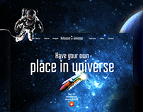 Kingdom of Universe / web & mobile design