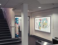 Leeds College of Art Wayfinding