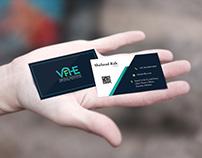 VIFHE Visiting Card & Letterhead Design
