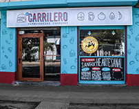 El Carrilero - Branding & Lettering