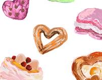 Random Food Illustrations