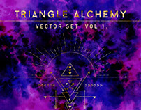 Triangle Alchemy Vector Set - Vol. 1