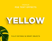 PSD TEXT EFFECTS