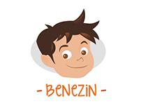 Benezin [Logo & Mascot]