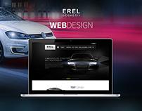 Erel Otomotiv Web Design