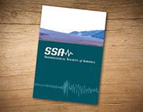 Seismological Society of America Brochure and Poster