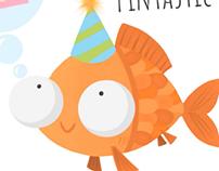 Fintastic Birthday Card