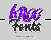 Free Fonts 2020