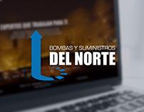 BOMBAS Y SUMINISTROS DEL NORTE | WEB