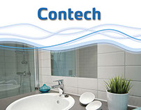 Contech AS - broshure and add