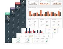 Multi Purpose AngularJS Admin Web App with Boot