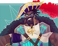 Space Pirate - Saint