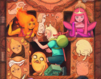Adventure Time Variant Covers #1-6