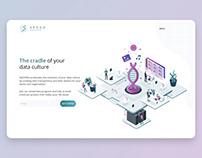 AGOORA web UI design