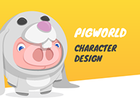 Pigworld - Character Design