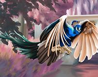 Peacock Harpy