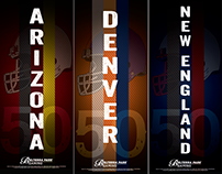 Superbowl 50 Pop-Up Banners