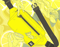 Yellow Muni Bum Bag