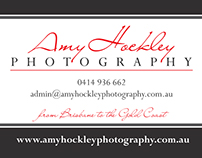 Amy Hockley Photography Branding