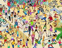 Skate Park Search