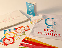 Visual Identity for UFRGS Criança, a Kid's Day Event
