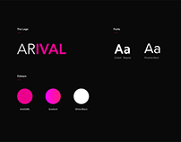 ARIVAL brand and messaging