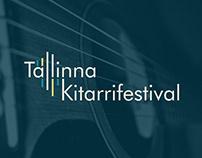 Tallinna Kitarrifestival - visual identity