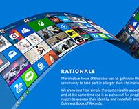 Windows 10 Live Tiles Social Campaign Pitch