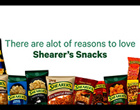 Welcome Guests - Shearer's Snacks