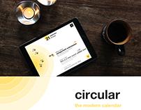 circular - the modern calendar