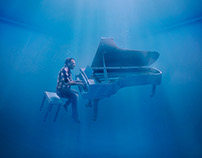 Southwest Magazine - Underwater Piano Play