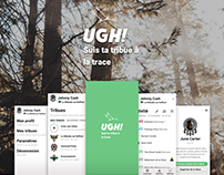 Ugh, Festival App. Personnal project.