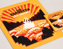 "Los Espiritus ""Agua Ardiente"" album: LP + CD"