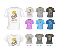 T-shirt Design for Carolina Coast Rum